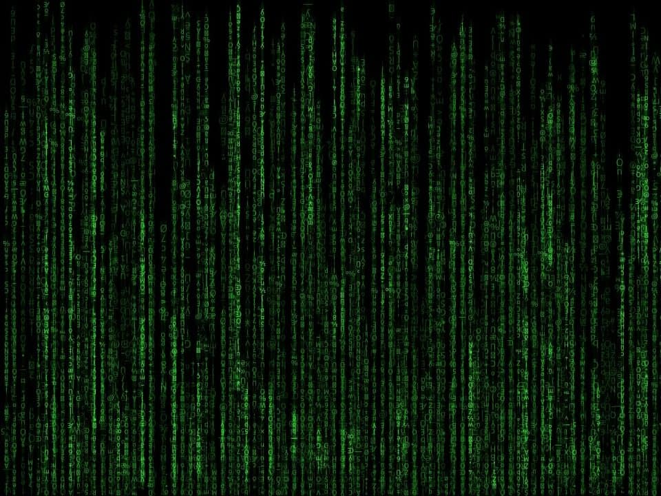 Data illustration with green text on black background representing ransomware incident response
