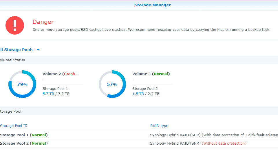 Data Recovery Case Study: DS411 Synology DiskStation RAID-5