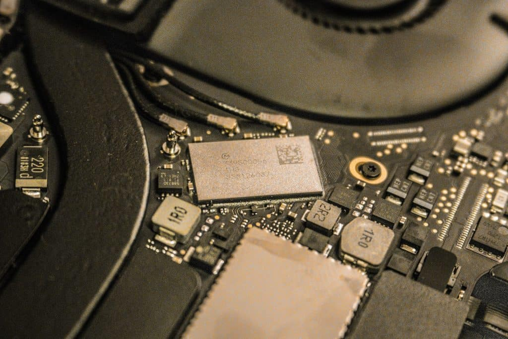 Macbook Pro 2016 A1706 SSD soldered directly to the motherboard