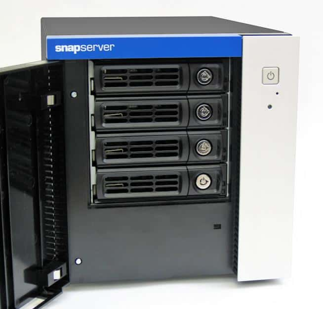 Example of a Desktop SnapServer Appliance