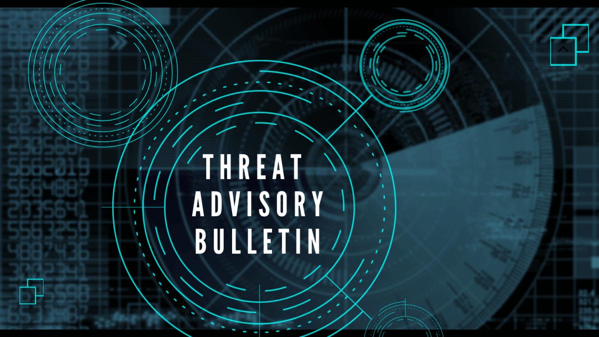 Gillware Cyber Threat Advisory Bulletin Graphic