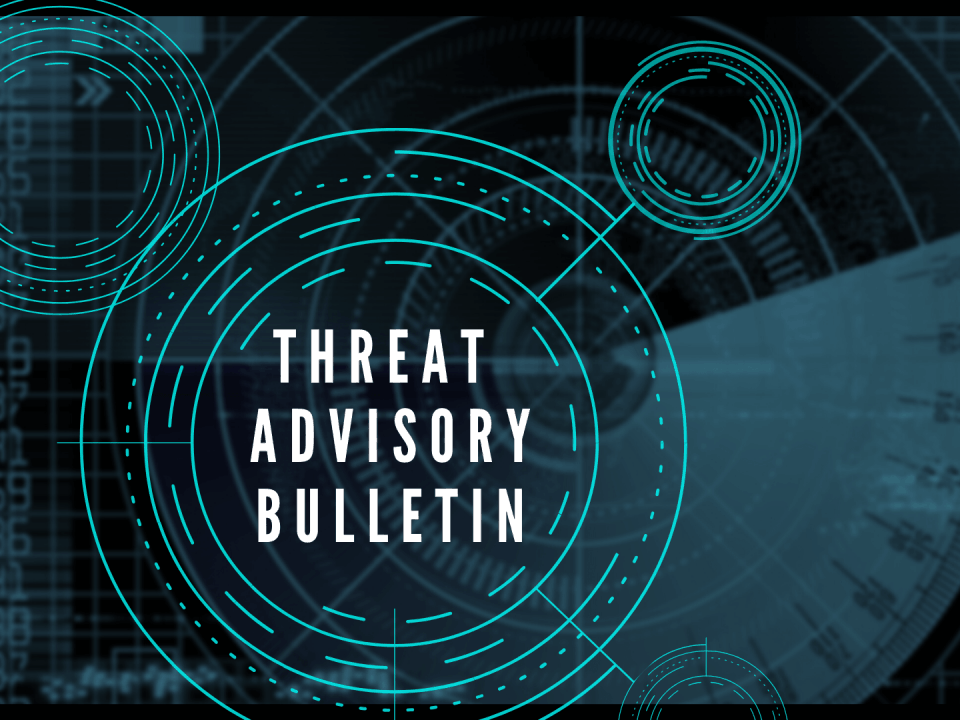 Gillware Cyber Threat Advisory Bulletin Graphic