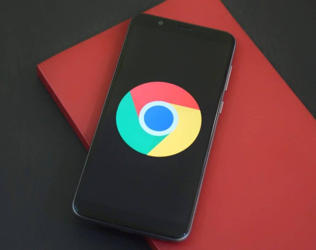 Black Google smartphone