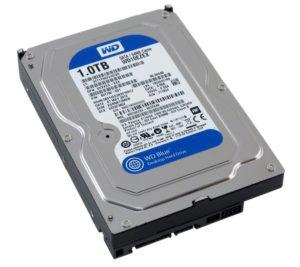 Western Digital Blue 1TB hard drive
